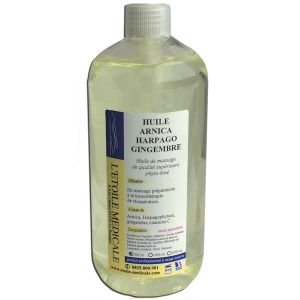 Huile Harpago arnica gingembre - 500 ml