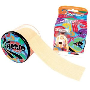 Bande Kinesio Taping Performance Plus 5 cm x 5 m - beige