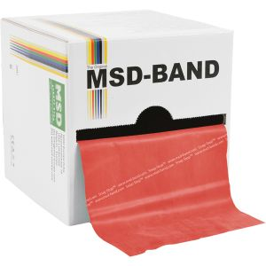 MSD BAND MOYEN L 22.5M ROUGE