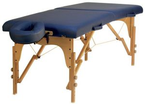 TABLE PLIANTE RELAX BLEU