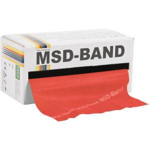 MSD BAND MOYEN L 5.5 M ROUGE